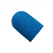 Колпачок абразивный для педикюра ∅ 16 мм 160 грит голубой