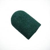 Колпачок абразивный для педикюра ∅ 16 мм 80 грит зелёный