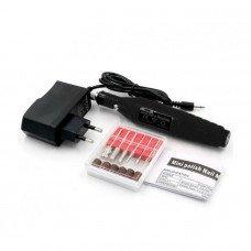 Чёрный мини фрезер для маникюра YRE 20000 с регулировкой оборотов