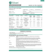 Сертификаты качества гелей Silcare