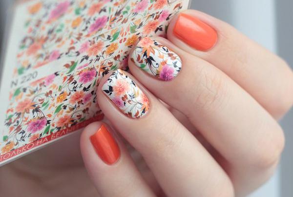 Слайдер-дизайн абстрактные цветы
